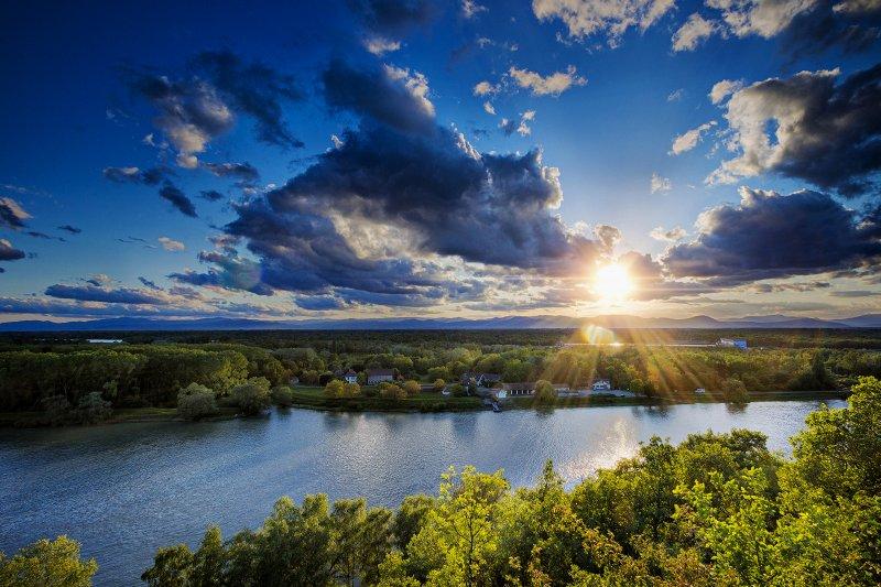 Rhine Sunset